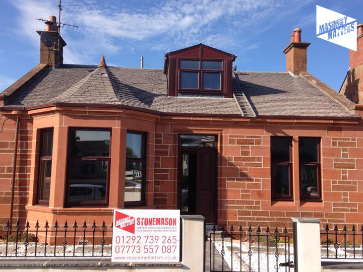 Red Sandstone Bungalow