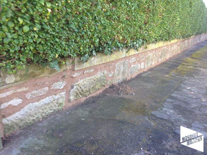 Repointed Boundary Wall